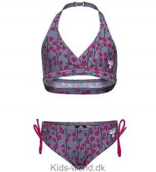 Hummel Bikini - Lasera - UV50 - Lys Blå m. Blomster