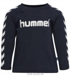 Hummel Bluse - Ryan - Navy m. Vinkler