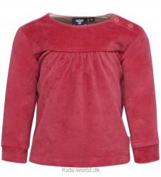 Hummel Bluse - Velour - Pink