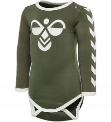 Hummel Body l/æ - HMLFlipper - Armygrøn