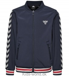 Hummel Bomberjacket - James - Navy m. Vinkler