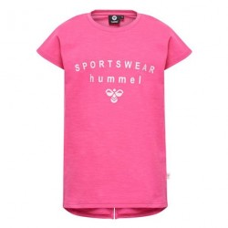 Hummel Frederikka T-shirt - Shocking Pink