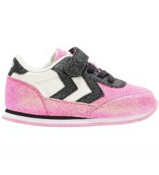 Hummel Sko - HMLReflex Glitter Infant - Black/Pink