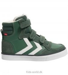 Hummel Sko - Stadil Leather Jr - Duck Green