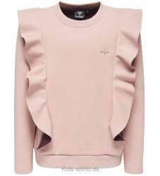 Hummel Sweatshirt - Belli - Rosa m. Flæser