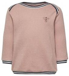 Hummel Sweatshirt - Ginger - Rosa m. Glimmer