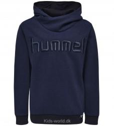 Hummel Sweatshirt m. Hætte - Bradley - Mørk Blå