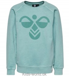 Hummel Sweatshirt - Pop - Mørk Mint