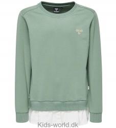 Hummel Sweatshirt - Stine - Lysegrøn