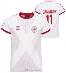 Hummel T-shirt - DBU - Hvid m. Vinkler