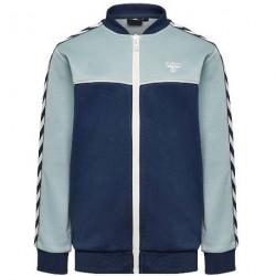 Hummel Vega Zip Jacket - Lyseblå/Blå