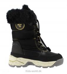 Hummel Vinterstøvler - Tex - Snow Boot Jr - Sort