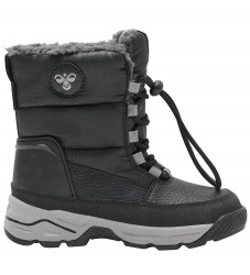 Hummel Vinterstøvler - Tex - Snow Boot Low Jr - Sort