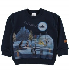 Hust and Claire X-Claire Sweatshirt - Sejer - Navy