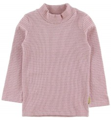 Hust and Claire X-Mas Bluse - Anita - Dusty Rose m. Guld