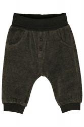 Hust baby velour bukser grey blend
