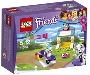 Hvalpekunster og godbidder - 41304 - LEGO Friends