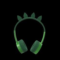 IFROGZ Little Rockers Trådløse børnehøretelefoner - T Rex