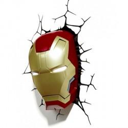 Iron Man 3D Lampe (Avengers)