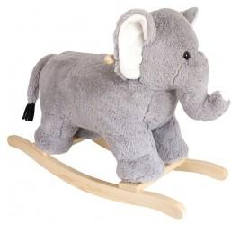 JaBaDaBaDo Plys gyngehest - Elefant