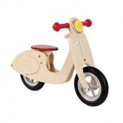 Janod Vanilla Træ Løbecykel Scooter