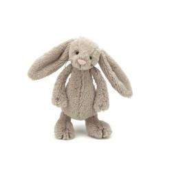 JellyCat Bashful Beige kanin lille