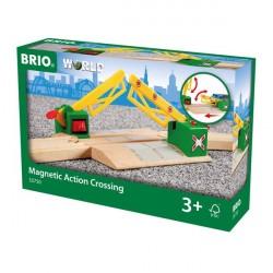 Jernbaneoverskæring, magnet. - 33750 - BRIO Tog
