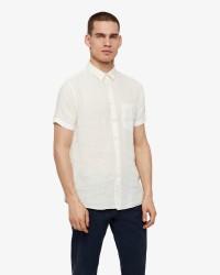 J.Lindeberg Daniel CBU SS Clean korteærmer skjorte