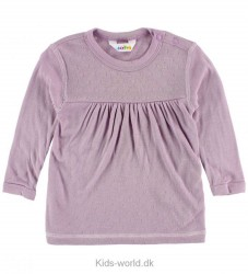 Joha Bluse - Bambus - Lavendel m. Mønster