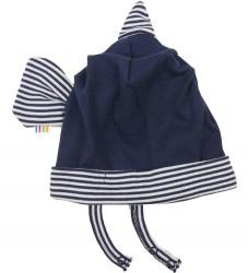 Joha Fiske Hat - Marineblå/Hvid Stribet