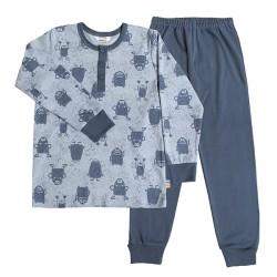 Joha Pyjamas Bomuld - Dust Monster
