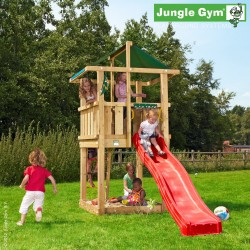 Jungle Gym Hut Legetårn Komplet inkl. Træpakke