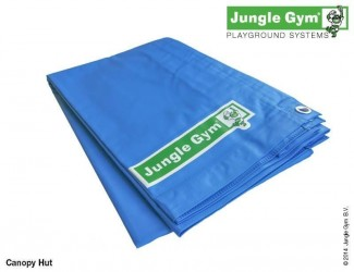 Jungle Gym Hut Presenning - Blå