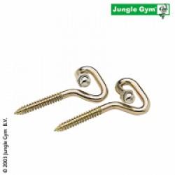 Jungle Gym Kroge med Trægevind - 2 stk