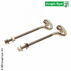 Jungle Gym Kroge m/mm.-gevind og møtrik - 2 stk