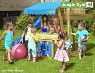 Jungle Gym Minimarked Modul Komplet inkl. træpakke