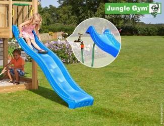 Jungle Gym Rutsjebane Blå 220 cm