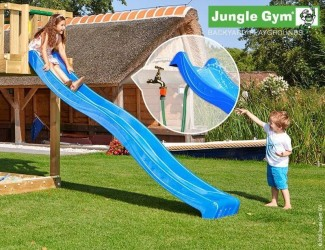 Jungle Gym Rutsjebane Blå 265 cm