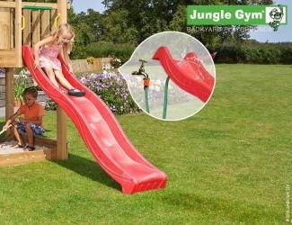 Jungle Gym Rutsjebane Rød 220 cm