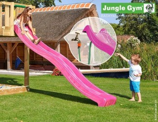 Jungle Gym Rutsjebane Violet 265 cm