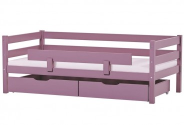 Juniorseng Hoppekids Ida med sengehest, skuffer og madras (160x70)