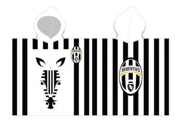Juventus Poncho / Håndklæde med hætte - 100 procent bomuld