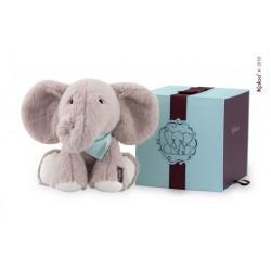 Kaloo Elefant, 25 cm. - Lysegrå