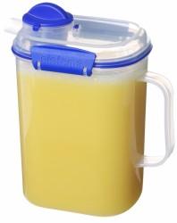 Kande til vand eller juice fra Sistema på 2 liter - Transparent