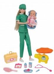 Kari Michell karriere dukke - Børnelæge