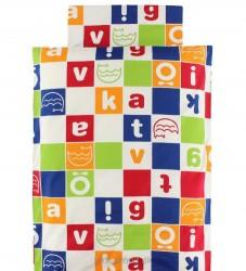Katvig Classics Sengetøj - Baby - Multifarvet m. Logo