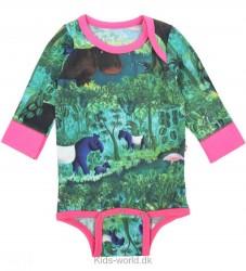 Katvig Scherfig Body - L/Æ - Jungle print m. Pink