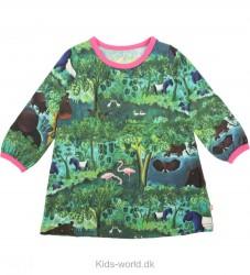 Katvig Scherfig Kjole - Jungle Print m. Pink