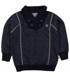 Katvig Sweatshirt - Navymeleret