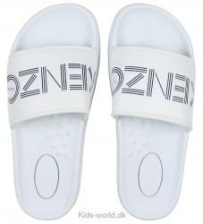 Kenzo Klipklapper - Hvid m. Logo